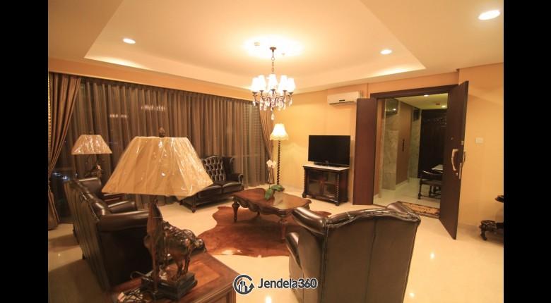 Living Room Apartemen The Mansion Kemang