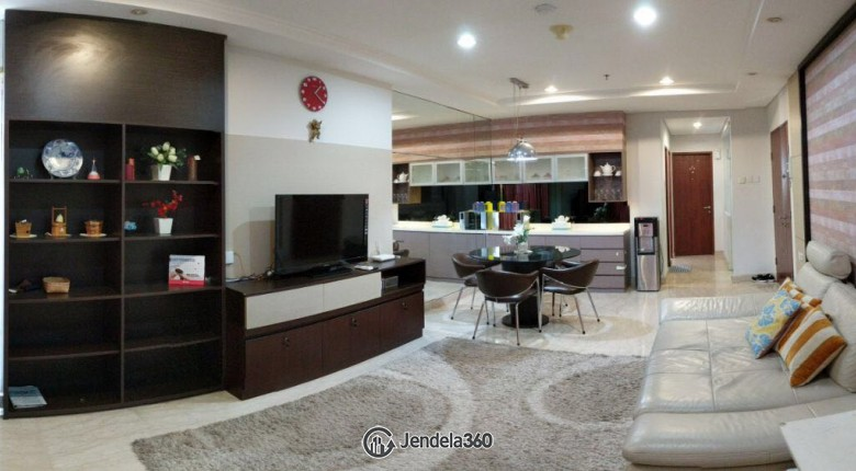 Living Room Permata Hijau Residences