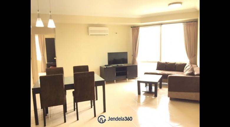Living Room Apartemen Batavia Apartment