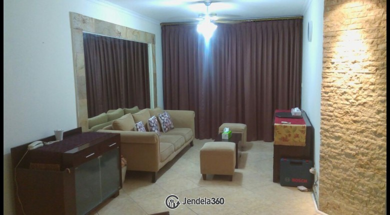 Living Room Taman Rasuna Apartment