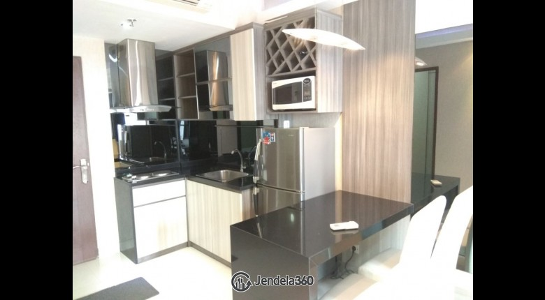 Living Room Puri Park View Apartment Apartment