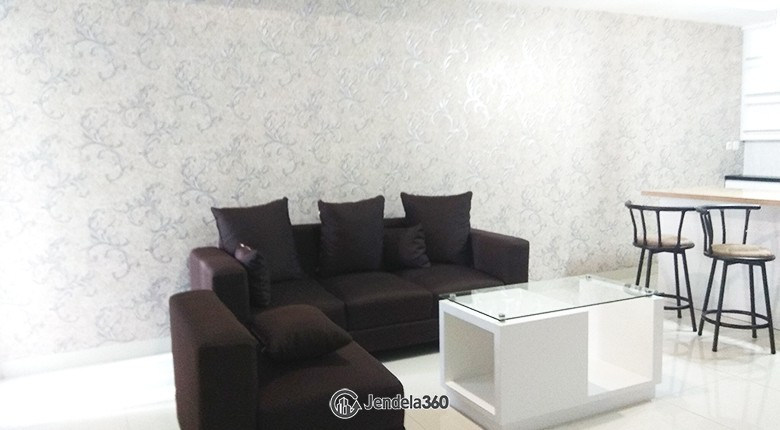 Living Room The Mansion Kemayoran Jasmine
