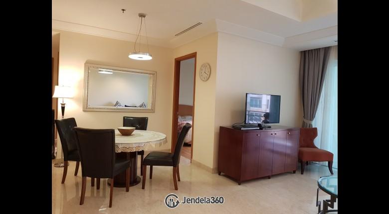 Living Room Apartemen Pakubuwono Residence