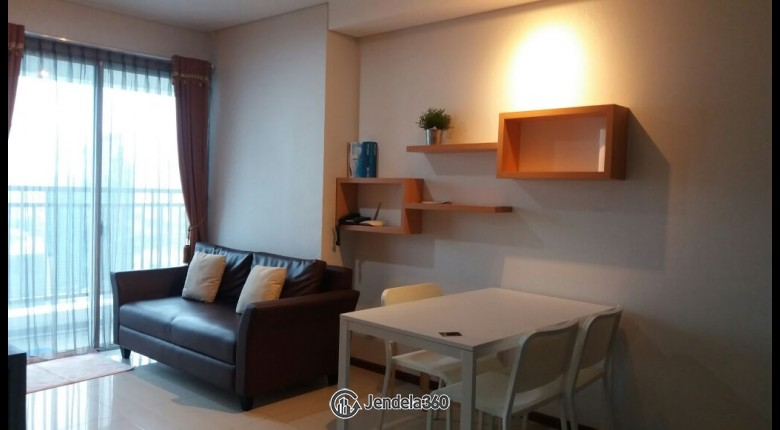 Living Room Thamrin Executive Residence 1BR Fully Furnished