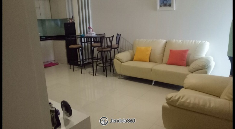 Living Room The Mansion Kemayoran Jasmine 2BR Semi Furnished