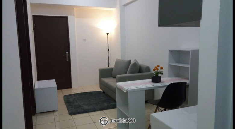 Living Room Apartemen Puri Park View Apartment