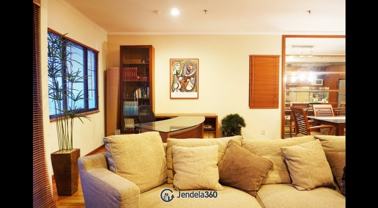 Living Room Puri Garden Apartment Apartment