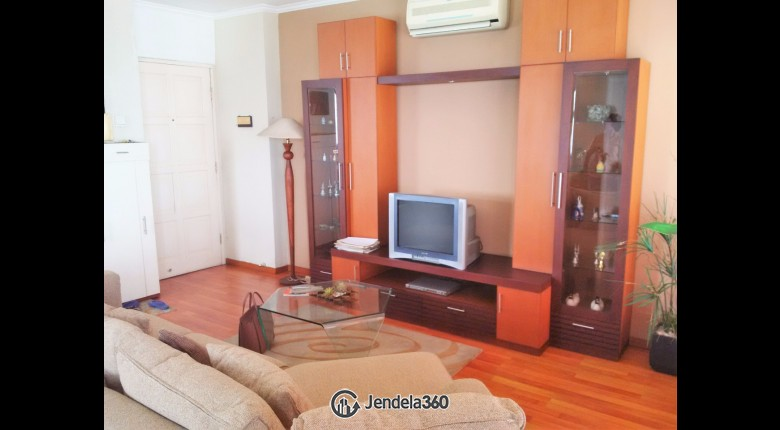 Living Room Apartemen Puri Garden Apartment