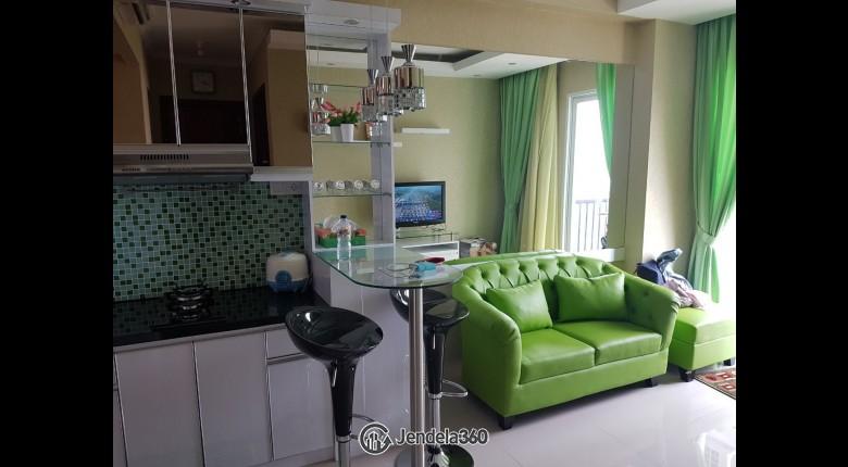 Living Room Apartemen Signature Park Grande 2BR Fully Furnished