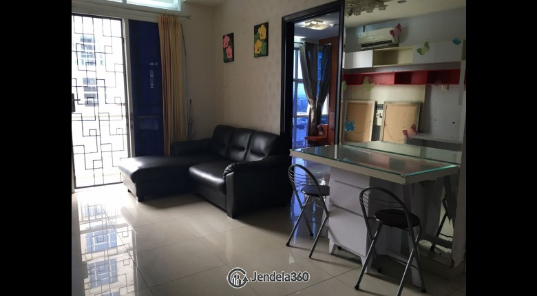 Living Room CBD Pluit Apartment 3BR Fully Furnished Apartment