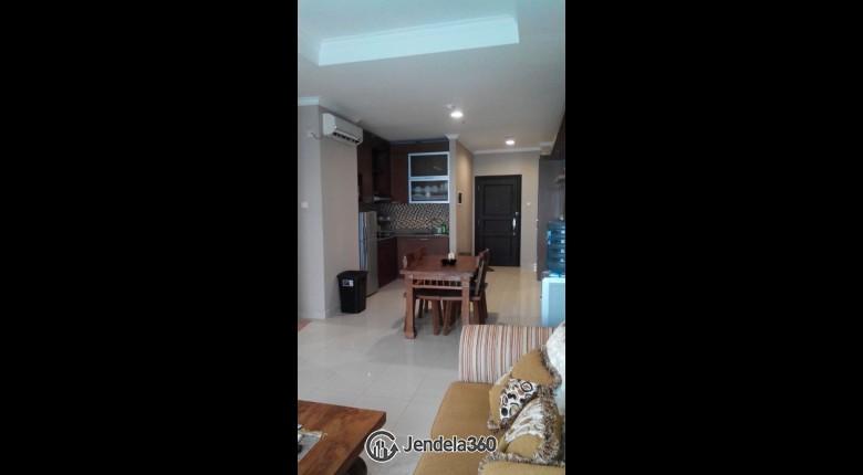 Living Room Apartemen Belleza Apartment