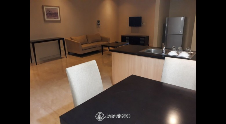 Living Room Apartemen Mayflower Apartment (Indofood Tower)