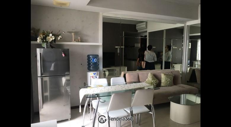 Living Room Royal Mediterania Garden Residence 2BR Fully Furnished Apartment