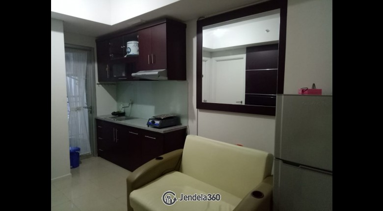 Living Room Apartemen Green Lake Sunter Apartment 3BR Tower Nothem