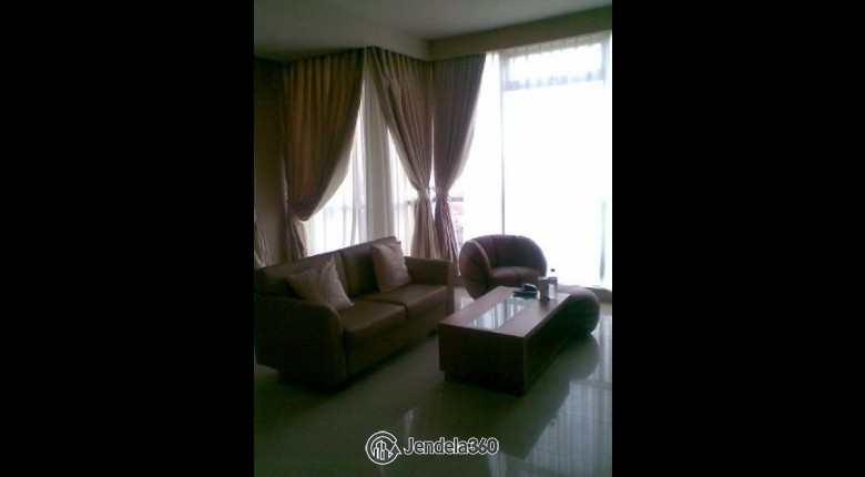 Living Room Apartemen Kuningan Place Apartment
