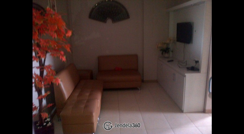 Living Room Apartemen City Resort Apartment