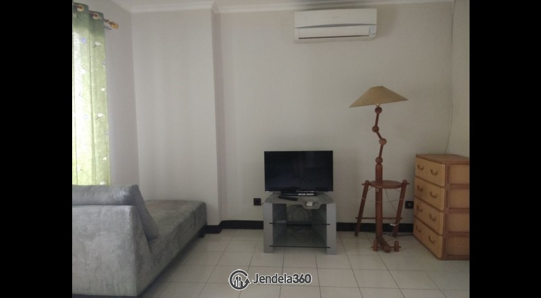 Living Room Apartemen Apartemen Semanggi