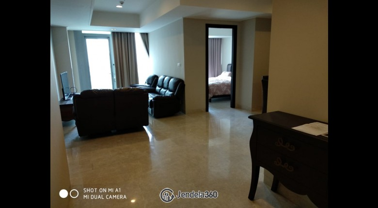 Living Room Ascott Kuningan Jakarta Apartment