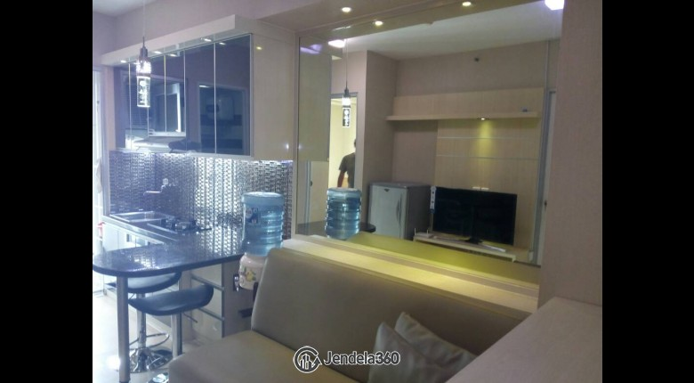 Living Room Green Bay Pluit Apartment 2BR Fully Furnished Apartment