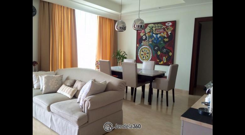 Living Room Apartemen Pakubuwono View