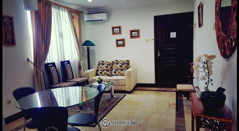Living Room Bumi Mas Apartment Apartment
