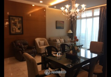 Senayan Residence 3BR Fully Furnished