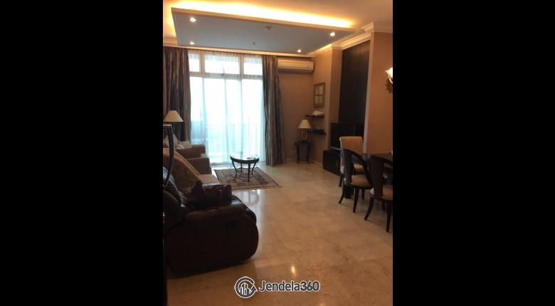 Living Room Apartemen Senayan Residence