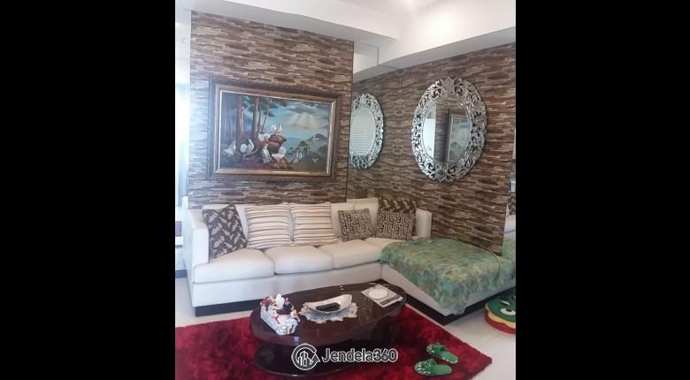 Living Room Apartemen 1 Park Residences