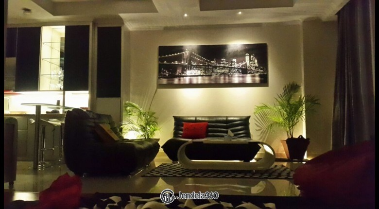 Living Room Ancol Mansion Apartment