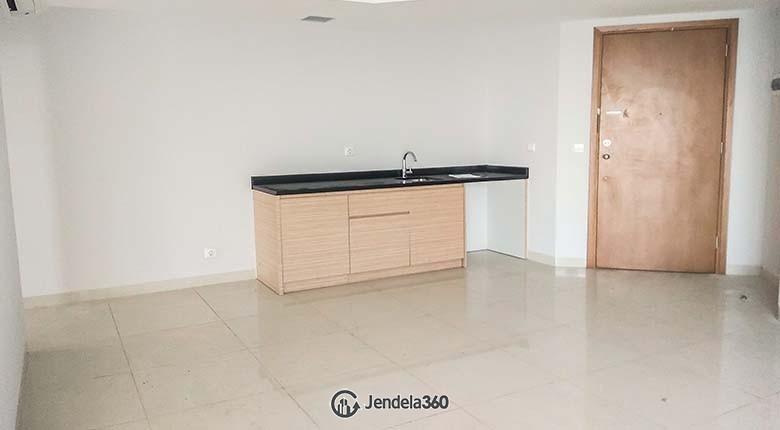 Living Room The Mansion Kemayoran Jasmine 2BR Semi Furnished Apartment