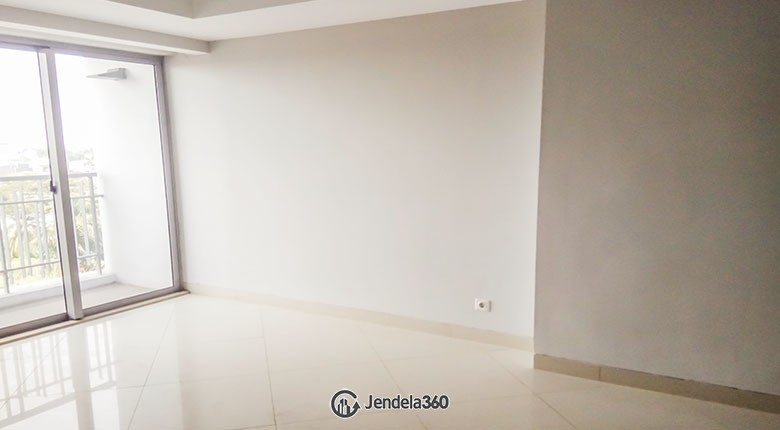 Living Room The Mansion Kemayoran Jasmine 1BR View City