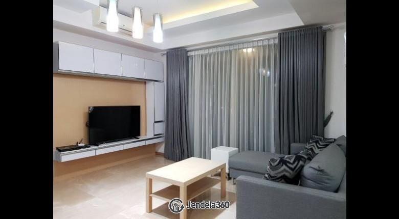 Living Room Apartemen Casa Grande Apartment 2BR Tower Avalon