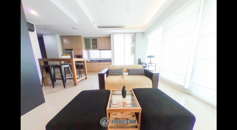 Living Room Kuningan Place Apartment