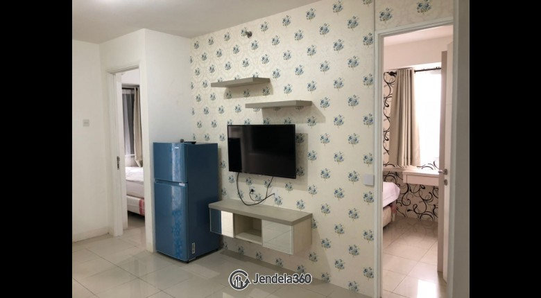 Living Room Bassura City Apartment 2BR Fully Furnished Apartment