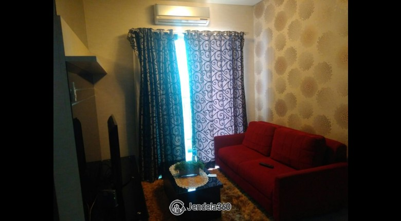 Living Room Apartemen Thamrin Residence Apartment 2BR Fully Furnished