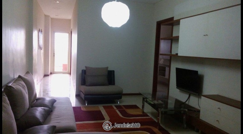 Living Room Thamrin Residence Apartment