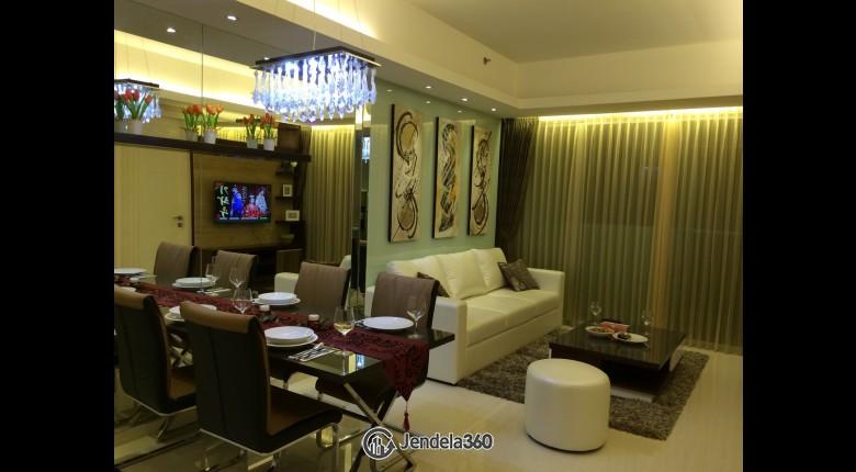 Living Room Kemang Village Apartment 2BR Fully Furnished