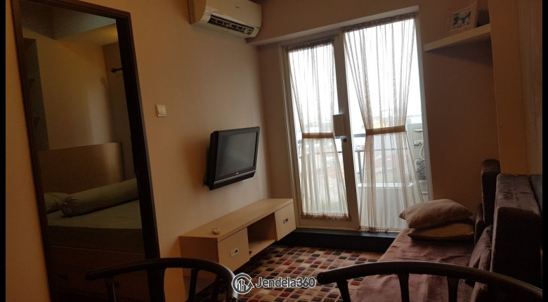 Living Room Apartemen Puri Park View Apartment