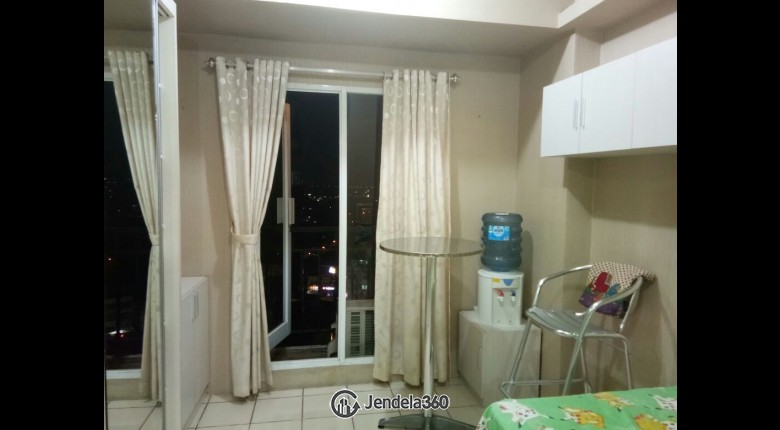Living Room Puri Park View Apartment Studio Fully Furnished Apartment