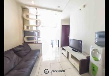 Living Room Apartemen Mediterania Garden Residence 2 2BR View City