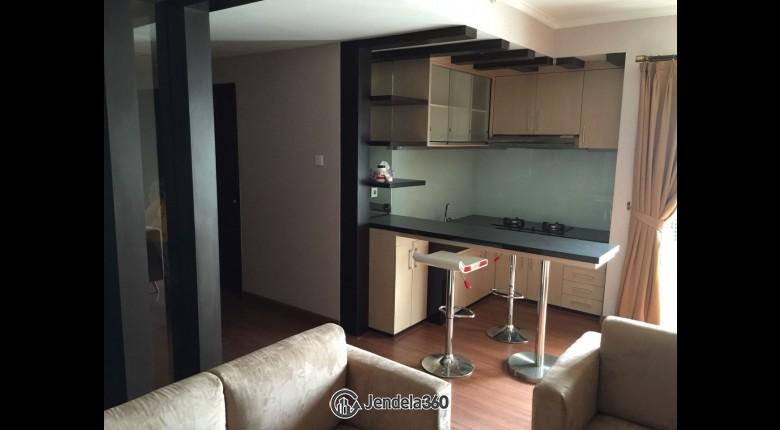 Living Room Mediterania Marina Ancol Apartment 2BR View City Apartment