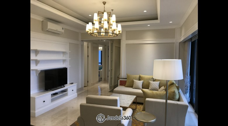 Living Room 1 Park Avenue 2BR Fully Furnished Apartment