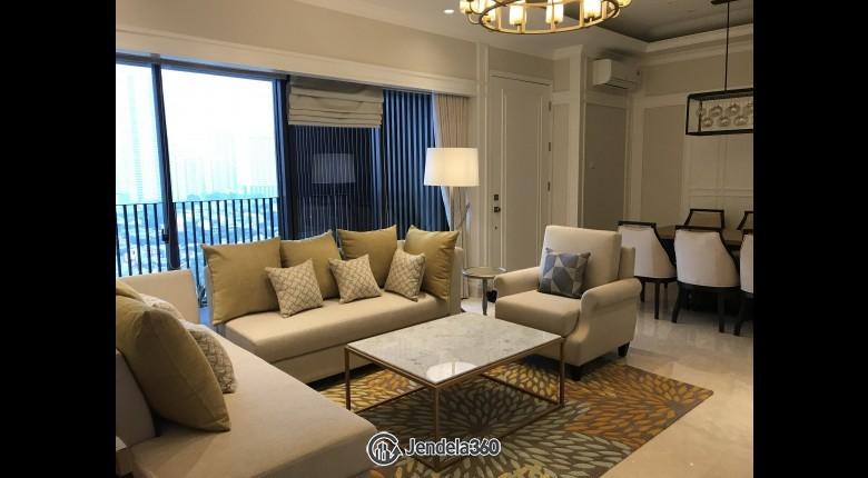 Living Room 1 Park Avenue Apartment