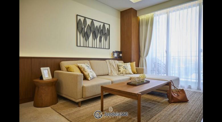 Living Room Pondok Indah Residence 1BR Fully Furnished