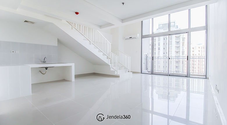 Living Room Apartemen Neo Soho Residence 1BR Non Furnished