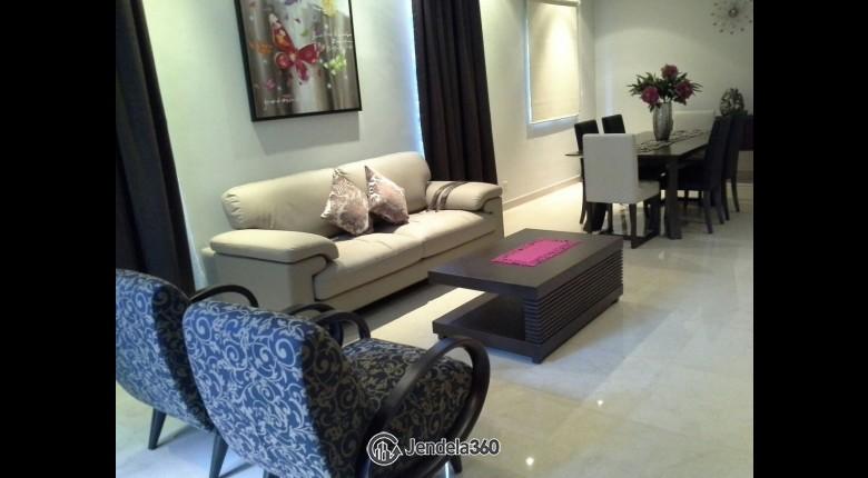 Living Room Sudirman Residence