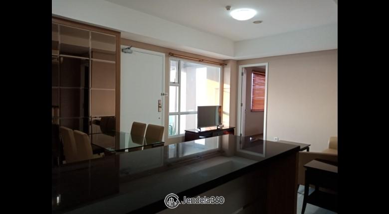 Living Room Apartemen 1 Park Residences 2BR Fully Furnished