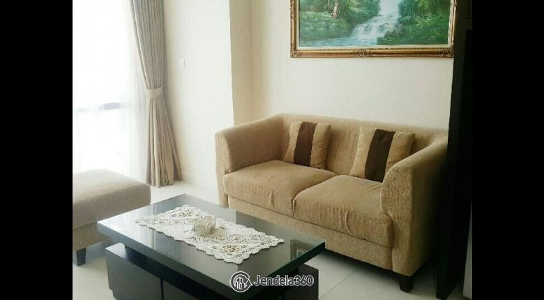 Living Room Kuningan City (Denpasar Residence) 2BR Fully Furnished