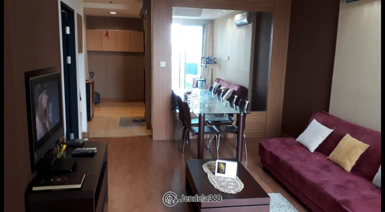 Living Room Apartemen Essence Darmawangsa Apartment 2BR Fully Furnished