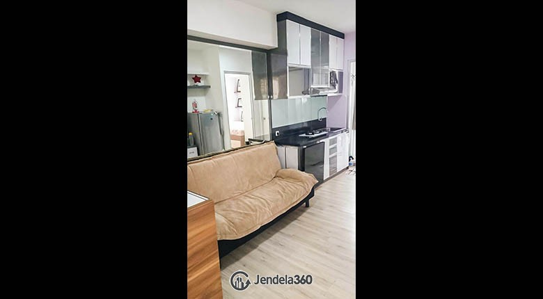 Living Room Green Bay Pluit Apartment